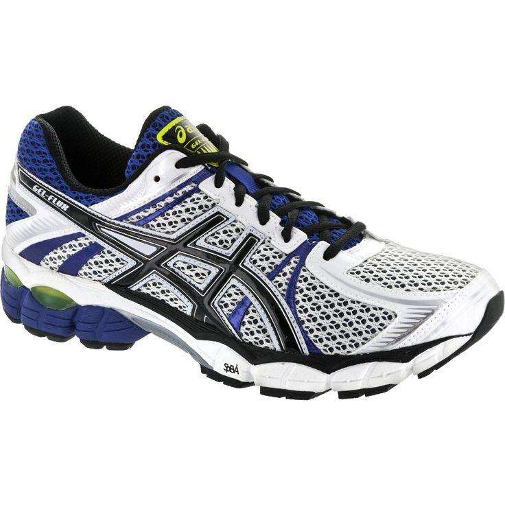 ASICS GEL-Flux: ASICS Men's Running Shoes White/Black/Royal