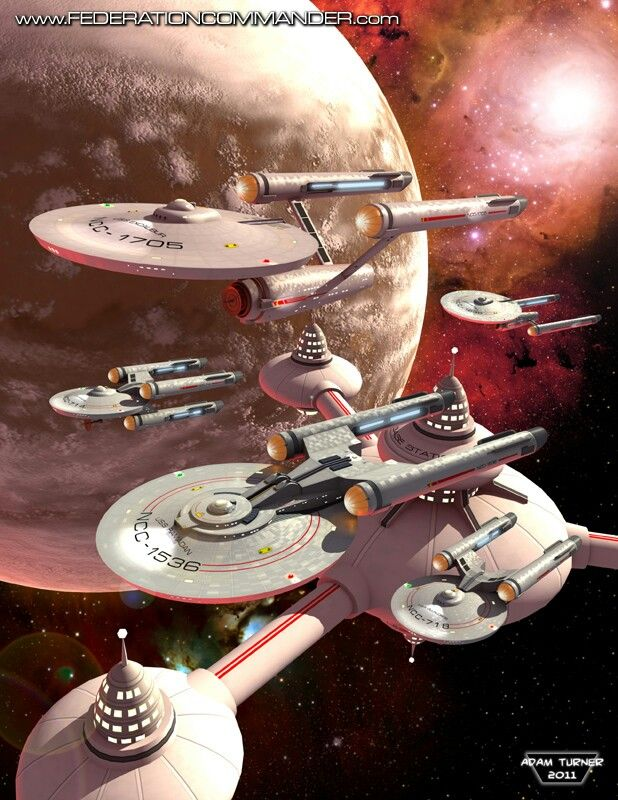 Star Trek ships on Pink Planets... Check out another Star Trek assortment...  http://www.coolscifigifts.com/store/search/?word=star+trek