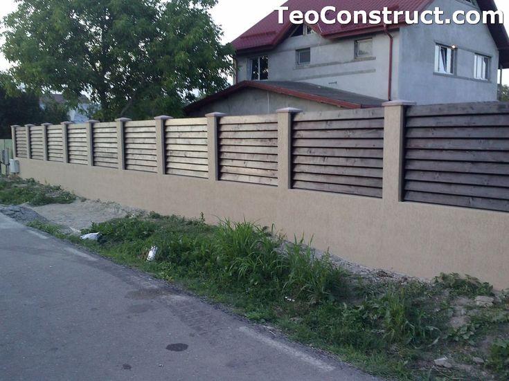 Garduri din lemn preturi Brasov 2