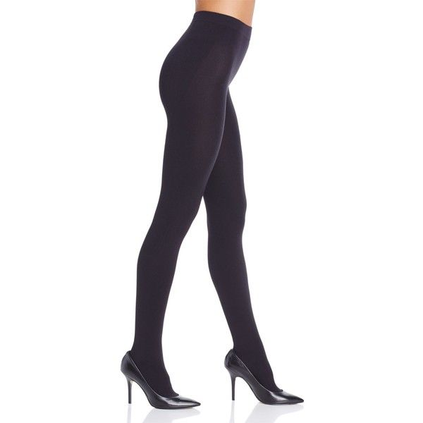 Item m6 Cozy Winter Tights (€96) ❤ liked on Polyvore featuring intimates, hosiery, tights, black, item m6, spandex tights, spandex stockings, item m6 tights and lycra tights