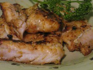 Alaskan Pollock - easy recipe with steak sauce