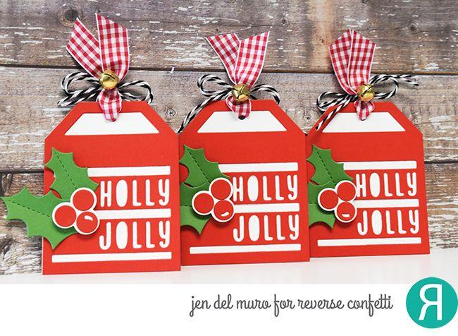 jen del muro   holiday gift tags