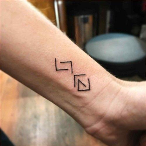 Kleine Tattoos Männer - 70 einzigartige Ideen, Symbolik