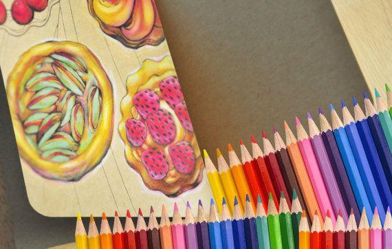 Handmade Sketchbook Travel Notebook Planner Journal  by WSCraftBox