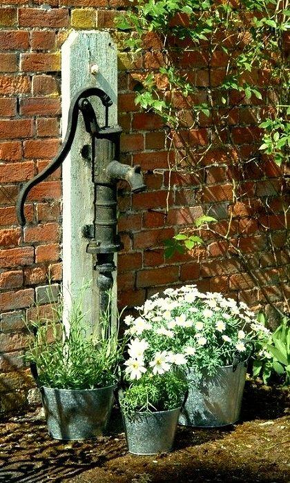 M s de 25 ideas incre bles sobre bombas de agua antiguas for Bomba de agua para fuente de jardin