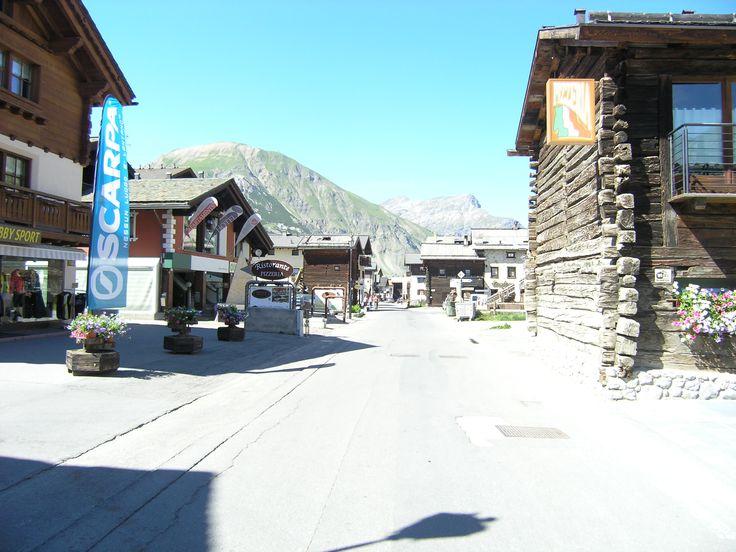 Ook in het dorp Livigno is veel te beleven.