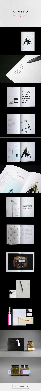 Athena Branding and Editorial Design
