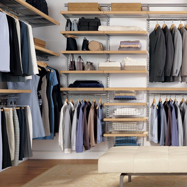 small walk-in closet plans - Google Search