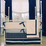 Navy Nightime Boys Nursery @PoshTots: Boys Nurseries, Baby Beds, Posh Inspiration, White Beds, Baby Boys Beds, Navy Baby, Gregory Baby, Baby Rooms, Baby Girls Rooms