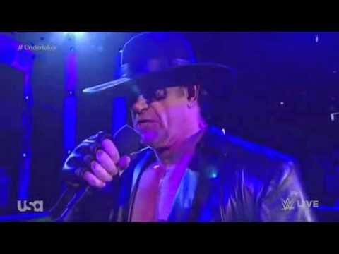 ▶ WWE RAW 7/20/15 The Undertaker Returns (SUMMERSLAM 2015 THE UNDERTAKER VS. BROCK LESNAR announced)