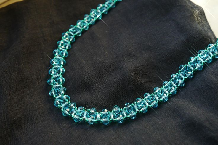 sparkling neck piece
