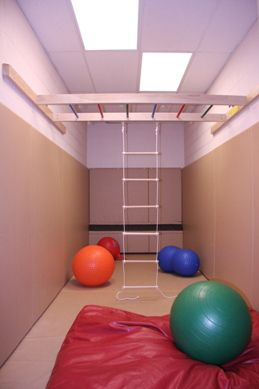 This site has ideas for indoor jungle gym