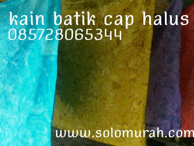 Kain batik cap halus 085728065344 solomurah | SoloMurah