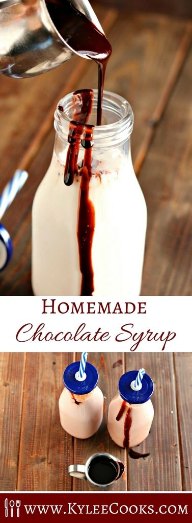 Homemade Chocolate Syrup A cinch to make (and you can pronounce all the ingredient names), this Homemade Chocolate Syrup is delicious and versatile!