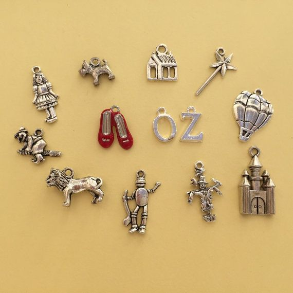 The Wizard of Oz Charm Collection  Ref CC016 by charmedbeader