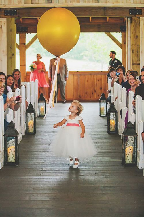 Brides: 6 Things Your Flower Girl Can Carry Down the Aisle Besides Petals