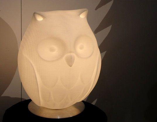 Rick Lee's Night Owl lamp