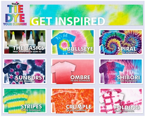 Tie Dye Your Summer | CRAFTS | Pinterest