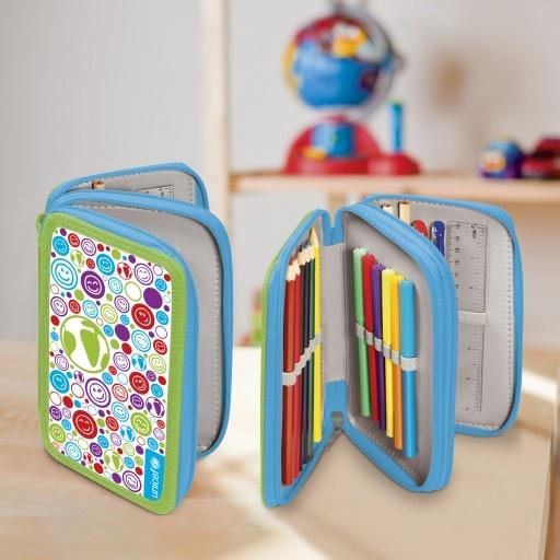 I pennarelli colorati UNICEF in un porta-astuccio per la scuola, per accompagnare il tuo bambino per tutto l'anno scolastico.   http://regali.unicef.it/index.php/biglietti-e-regali/per-bambini/set-studente.html