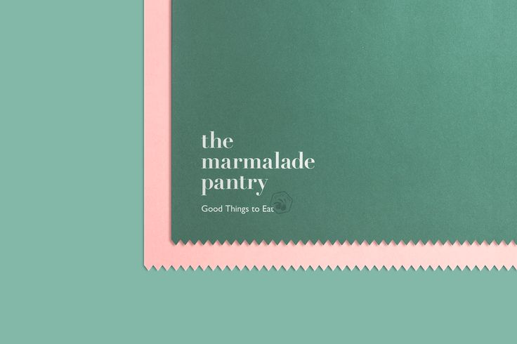 The Marmalade Pantry on Behance