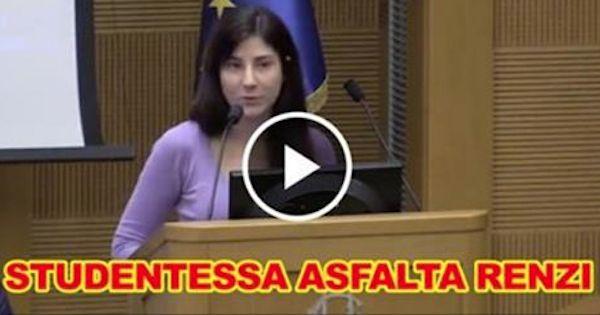 Studentessa di 22 anni mette K.O. Renzi e tutti i sostenitori del SI al referendum. (DA VEDERE!) - http://www.sostenitori.info/studentessa-22-anni-mette-k-renzi-tutti-sostenitori-del-si-al-referendum-vedere/258442
