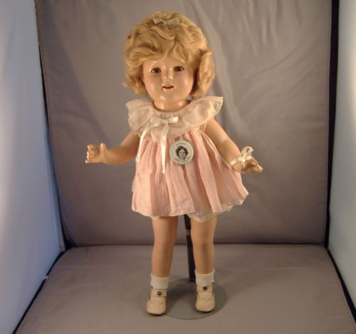Original 17 Quot Shirley Temple Composition Doll 1936 Baby