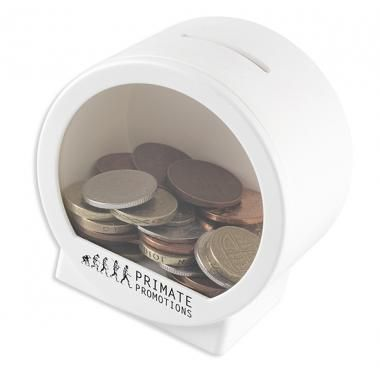 Promotional Money Pod - Coins and money saving Pods ( See Through ) :: Promotional Piggy Banks :: Promo-Brand Promotional Merchandise :: Promotional Branded Merchandise Promotional Products l Promotional Items l Corporate Branding l Promotional Branded Merchandise Promotional Branded Products London