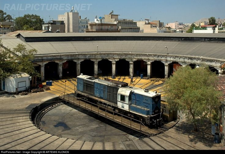RailPictures.Net Photo: 9204 OSE Hellenic Railways ALSTHOM, CC-AD 1600 A1 at Piraeus , Greece by ARTEMIS KLONOS