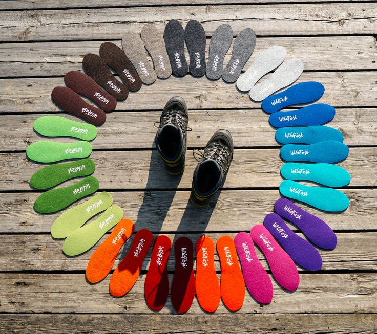 Colourful circle of WoolSteps! Insoles made of genuine woolfelt. Available in 17 amazing colours and different sizes. #feltinsoles #feltshoeinsoles #woolsteps #merino #felt #insoles #hikingboots #shoes #healthy #wanderlust #hiking #adventure #explore #discover #mountains #forest #nature #outdoor #organicclothing #organicfashion #keepitwild #lifestyle