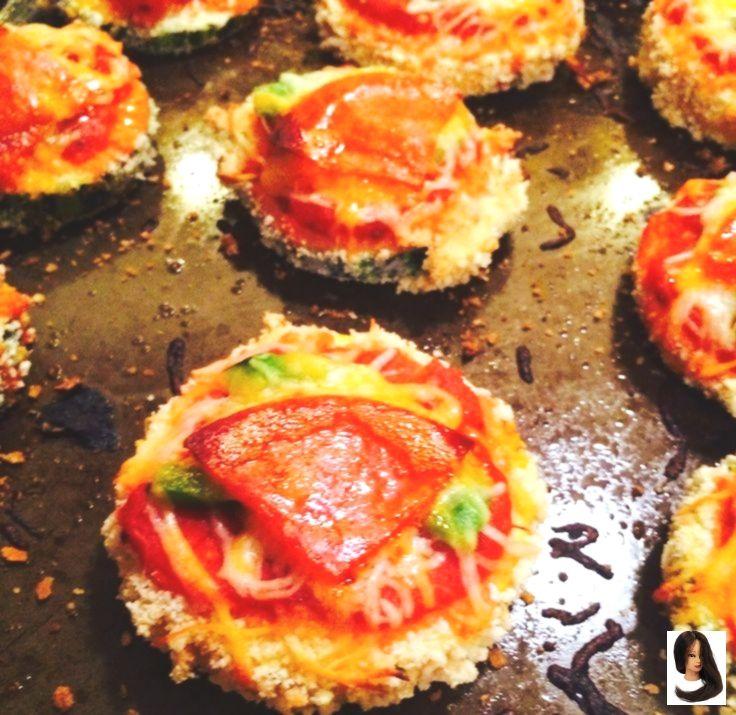 # to #courget #croquante #Gluten #la #Pizza