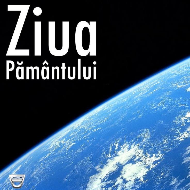 Începem săptămâna sărbătorind cel mai frumos lucru: Ziua Pământului!
