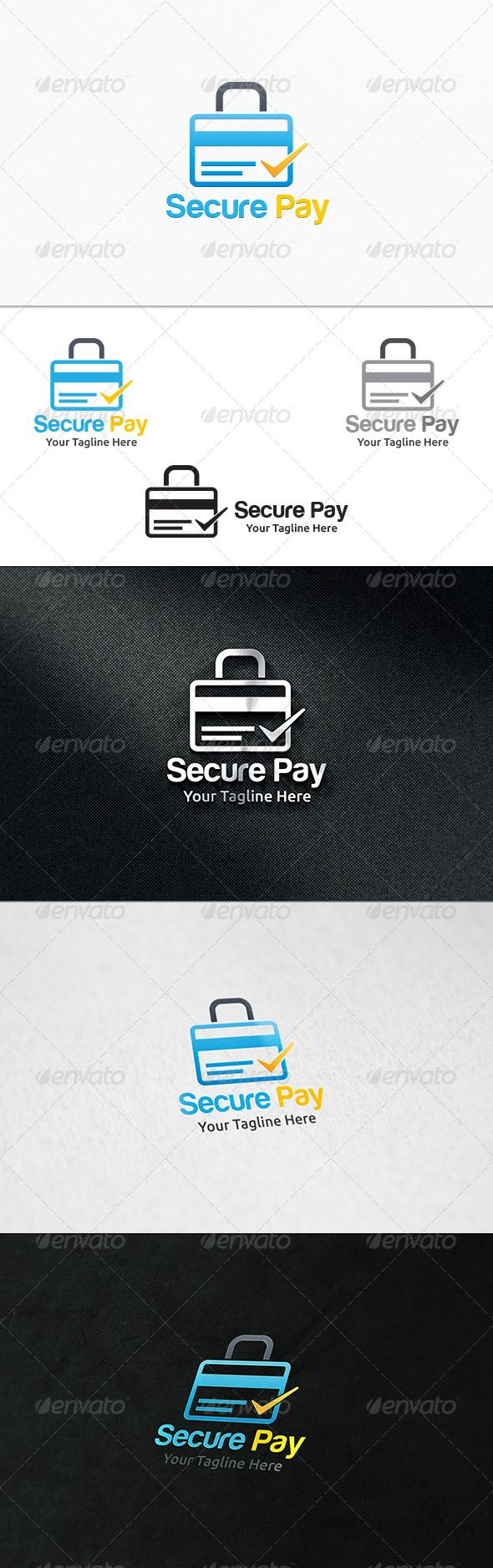 Secure Pay - Logo Template