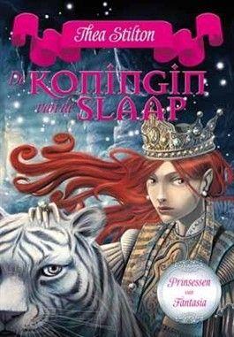 De Koningin van de slaap, Boek 6 van de 'De Prinsessen van Fantasia' serie van Thea Stilton