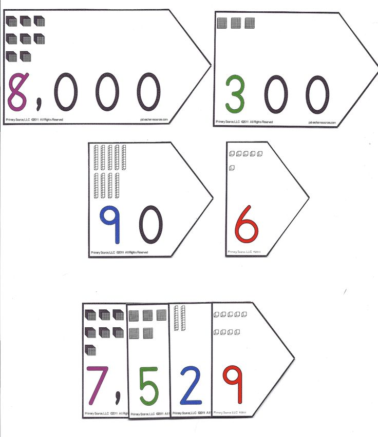 50 Best Place Value Images On Pinterest Learning School And
