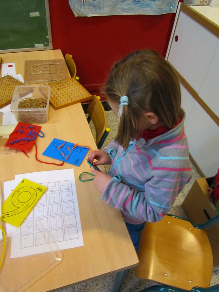 Derde Kleuterklas B: Thema: cijfers en letters.