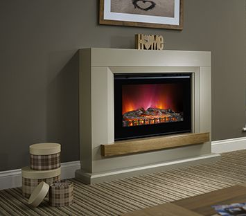 Elgin and Hall - Heywood Electric Fireplace Suite