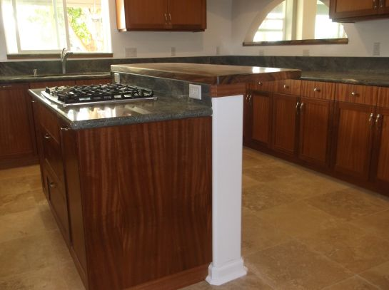 Best Recessed Panel Door African Mahogany Kitchen Cabinets With 400 x 300