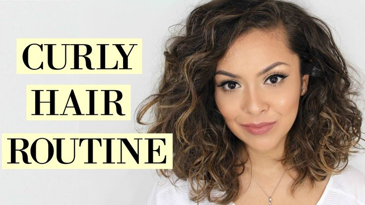 25+ Best Ideas About Curly Hair Routine On Pinterest