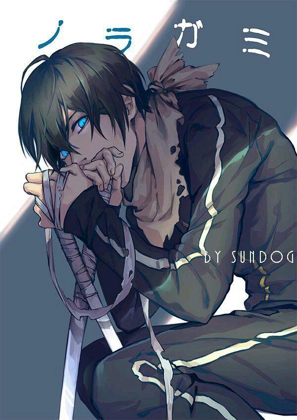 Yato ~Noragami~ '^^ Just tell me why he's so cute, omg!