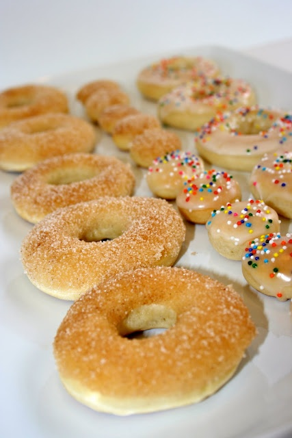 Baked Doughnuts ~ make them for breakfast, a snack, or dessert, and you won't be missing those fried donuts anymore!