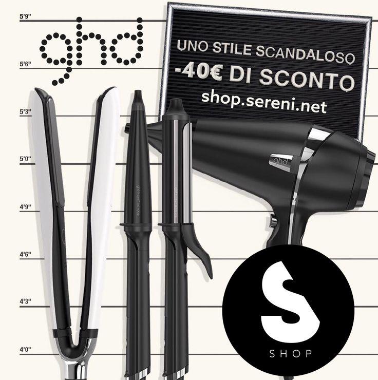 SCONTI ghd: per uno style #scandaloso!  -40 € sul prezzo di listino, limited edition comprese!  #promo #fattiunregalo #mostwanted