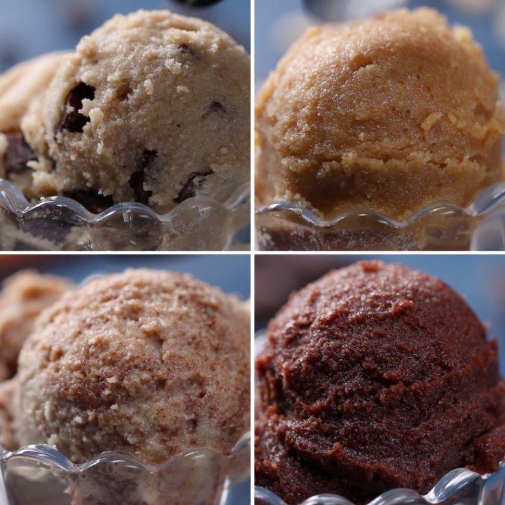 "Healthier Edible ""Cookie Dough"" 4 Ways #VeganFridays"