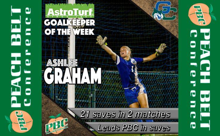 Women's Soccer Goal Keeper of the Week: Ashlee Graham, Georgia College