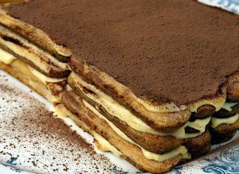 Рецепты десертов тирамису, чизкейк