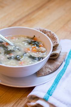 Low Fat Italian Wedding Soup