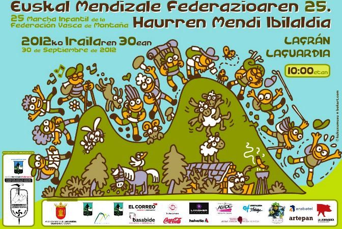 La XXV Marcha Montañera para familias llega a Laguardia el 30 de septiembre