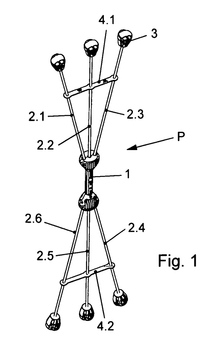 WO2012089339A2 PHYSICAL EXERCISE DEVICE