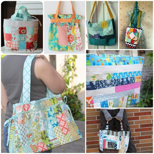 Sewing Trends with Melanie « Sew,Mama,Sew! BlogPatchwork Totes Sewing, Totes Sewing Trends, Mama Sewing Sewing, Totes Bags, All Canvas, Bags Trends, Sewing Upholstery, Sewing Bags, Bags Ideas