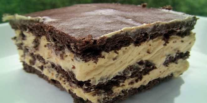 Kalorienarmer Eclair Kuchen Mit Schokoladenplatzchen Und Pudding Kuche Eclair Kuchen Eclair Kuchen Rezepte Eclair