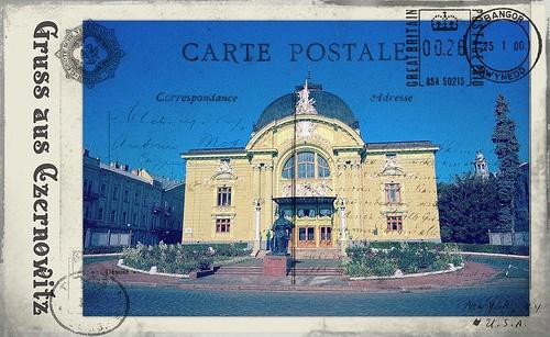 Greetings from Chernivtsi VII (Postcard Imitation)